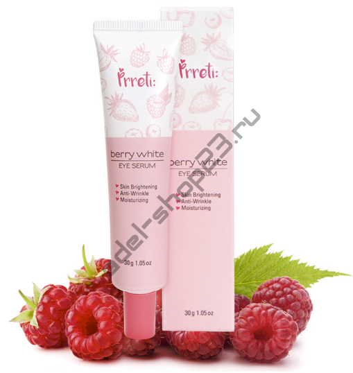 PRRETI - Сыворотка с ягодными экстрактами для кожи вокруг глаз Berry White Eye Serum
