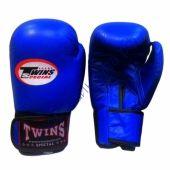 Боксерские Перчатки Twins синий TW-22Blue
