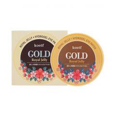 802612 Koelf Гидрогелевые патчи с золотом и маточным молочком Gold Royal Jelly Eye Patch
