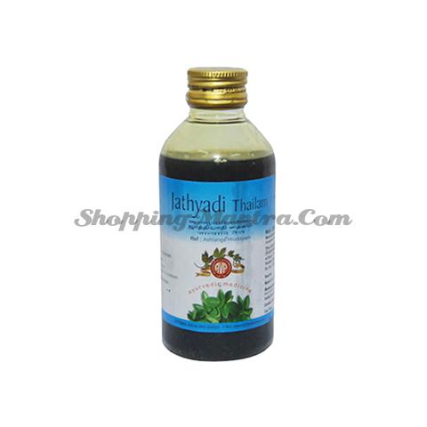 Джатьяди масло для кожи Арья Вайдья Фарма | AVP (Arya Vaidya Pharmacy) Jathyadi Thailam