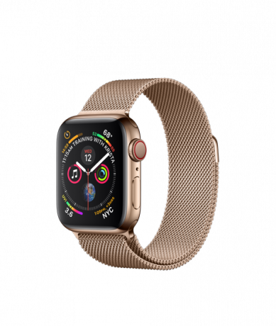 Apple Watch Series 4 GPS + Cellular 40mm Stainless Steel Gold Milanese Loop