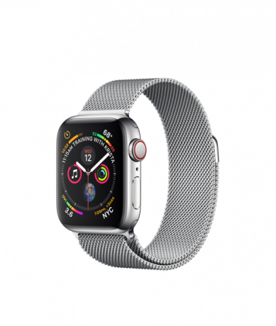 Apple Watch Series 4 GPS + Cellular 40mm Stainless Steel Milanese Loop
