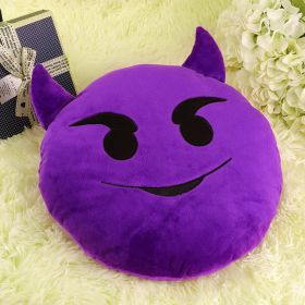 Подушка Emoji Evil