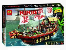 Конструктор Ninja Корабль Мастера Ву