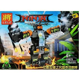 Конструктор Ninjago Боевые роботы Ниндзя
