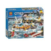 Конструктор City Штаб береговой охраны