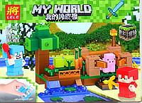Конструктор Minecraft Жилье на воде