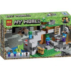 Конструктор Minecraft Пещера зомби