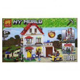 Конструктор Minecraft Загородный дом