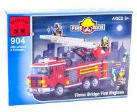 Конструктор Пожарная машина с командой