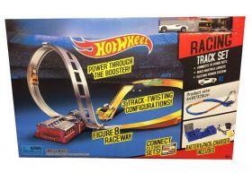 Игровой набор Hot Wheels Бесконечная восьмерка, с механизмом на батарейках