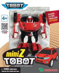 Трансформер Тобот (Мини Z (красный)внедорожник)
