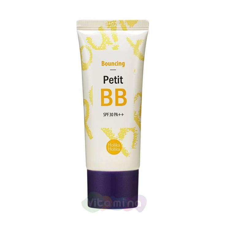 Holika Holika Восстанавливающий ББ-крем Petit Bouncing BB Cream SPF30 PA++