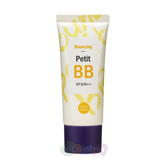 Holika Holika Восстанавливающий ББ-крем Petit Bouncing BB Cream SPF30 PA++