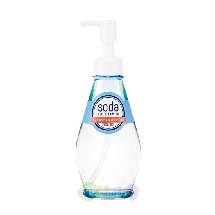 Holika Holika Глубоко очищающее гидрофильное масло Soda Tok Tok Clean Pore Deep Cleansing Oil