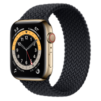 Ремешок Apple Watch Series 6 Charcoal Braided Solo Loop (для корпуса 44 мм)