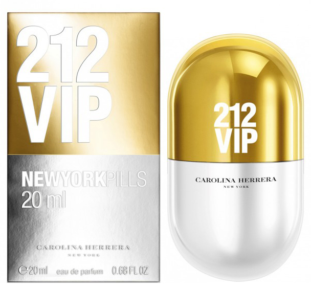 Туалетная вода Carolina Herrera 212 VIP New York Pills 80 мл