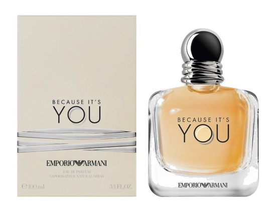Парфюмерная вода Emporio Armani Because It's You pure femme 100 ml