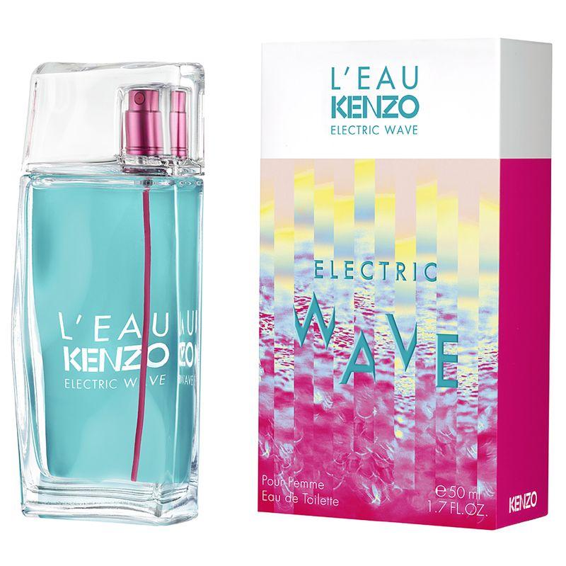 Туалетная вода Kenzo L`eau par Kenzo Electric Wave Pour Femme 100 мл
