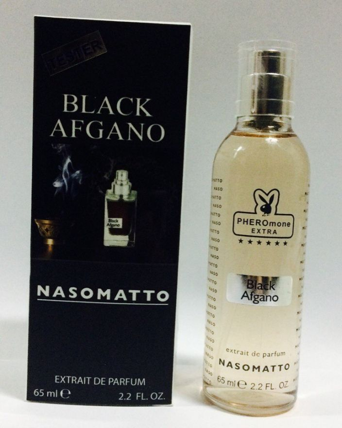 "Мини парфюм с феромонами Nasomatto ""Black Afgano Extrait"" унисекс (65мл)"