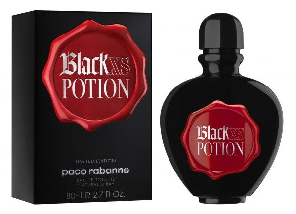 "PACO RABANNE ""Black XS Potion for Her"", 80 ml"