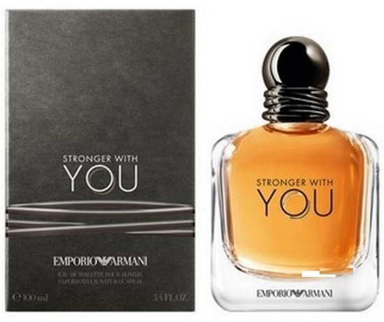 Туалетная вода Emporio Armani Stronger  Whith You for men100 ml