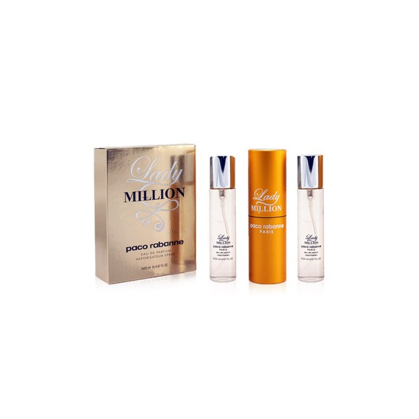 Paco Rabannne Lady Million 3x20ml