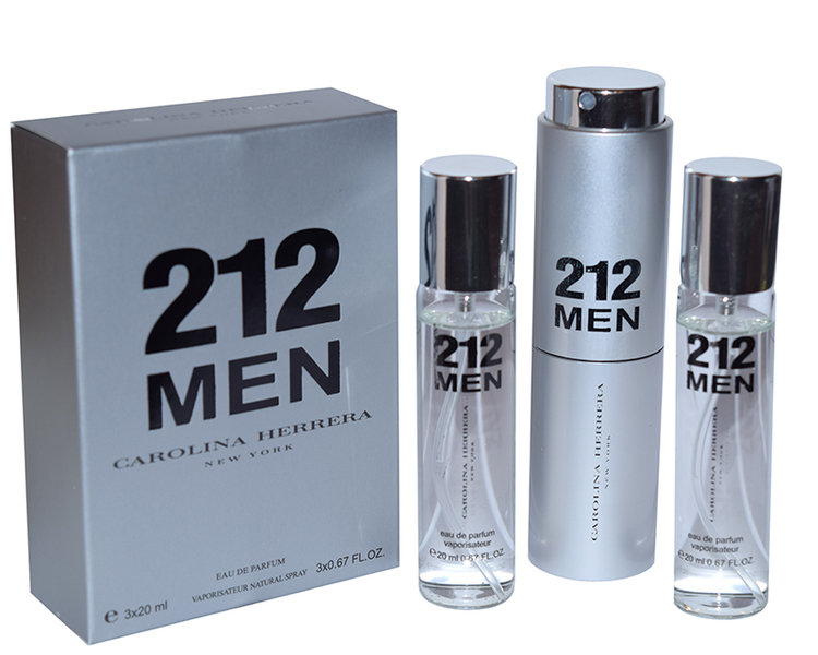 Carolina Herrera 212 Men 3x20 ml