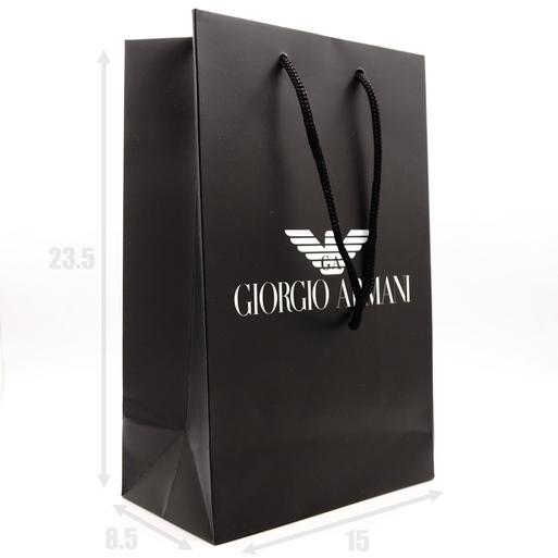 Подарочный пакет Giorgio Armani 23.5х8.5х15