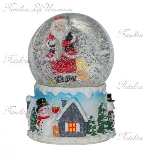 "Шар со снегом ""Санта"""