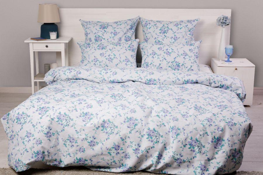 Поплин 1.5 спальный [в ассортименте] Мелани постельное белье