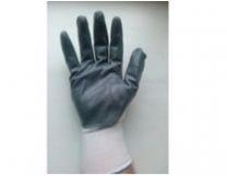 Перчатки нейлоновые обрезиненные в/с (серая) МАКСИ