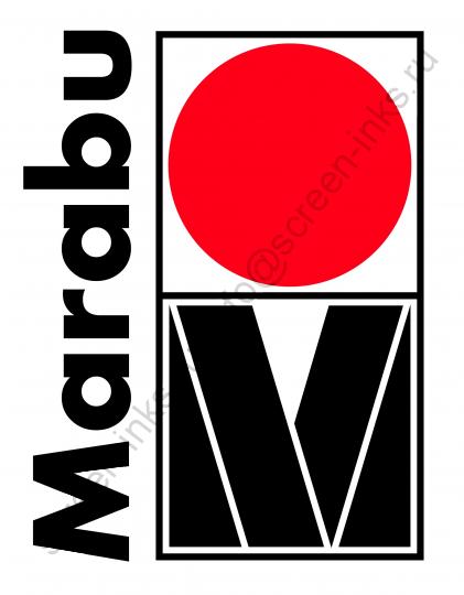 Краска MARABU Tampatex TPX 970 White Белая для текстиля 1 л.