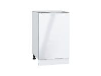 Шкаф нижний с 1-ой дверцей Фьюжн Н500 в цвете Angel