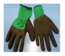 Перчатки нейлоновые со вспененным покрытием Аллигатор