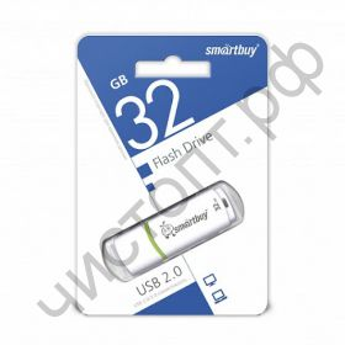 флэш-карта Smartbuy 32GB Crown White