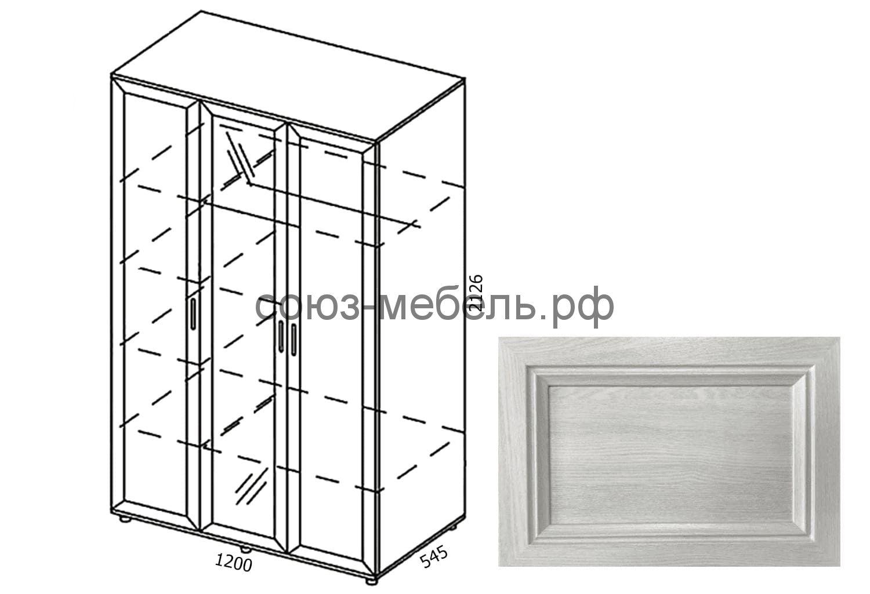 Классика Шкаф-3х ШК-3