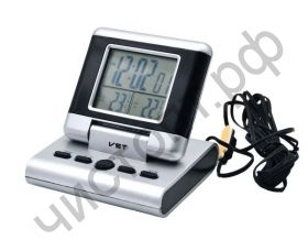 Часы  эл. настоль. VST-7060 (будильник, температура, дата)