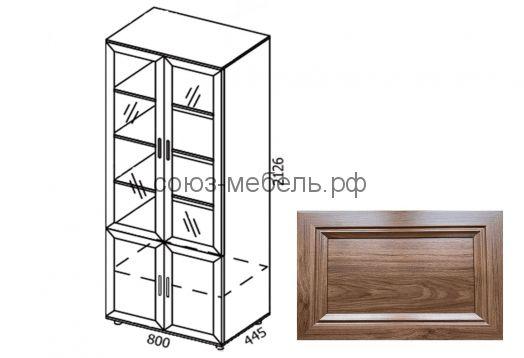 Классика Шкаф стеклянный ШК-С