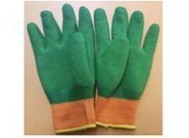 Перчатки утепленные с прорезиненным наладонником полный облив