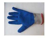 Перчатки  трикотажные с прорезиненным наладонником  Африка (№ 6 X)