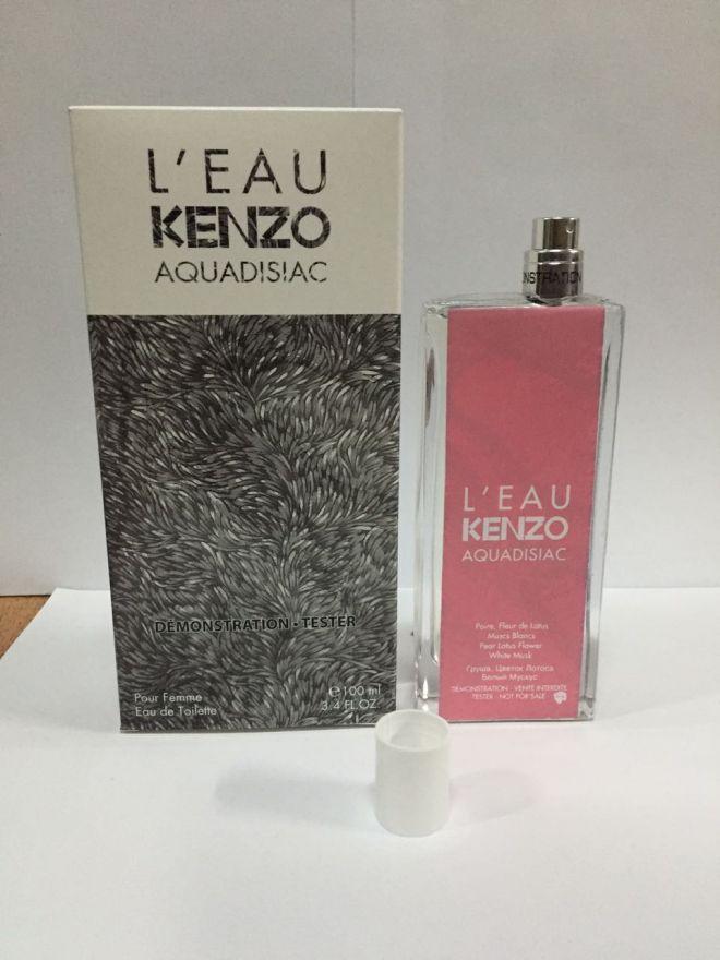 Tester L Eau Kenzo Aquadisiac  Pour Femme 100 мл