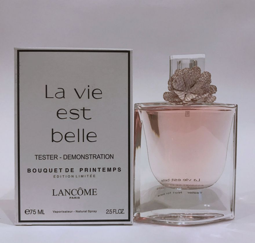 Tester Lancome La Vie Est Belle Bouquet Printemps  Edition Limitee 75ml