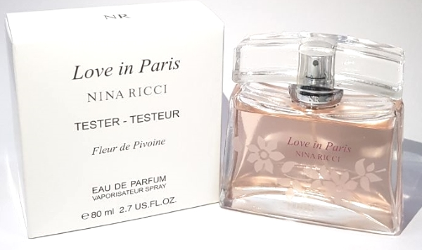 Tester Nina Ricci Love in Paris Fleur de Pivoine 80ml edp