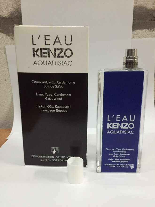Tester L`eau Kenzo Aquadisiac Pour Homme 100 мл