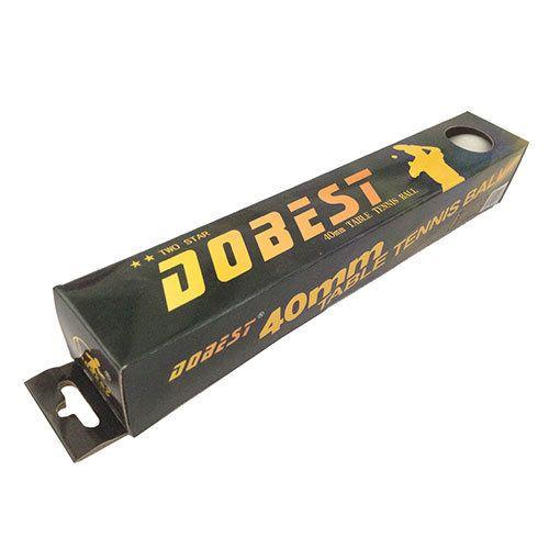 Шарики для настольного тенниса DOBEST 02-BA 2 звезды 6шт  белые