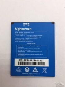 Аккумулятор для телефона Highscreen Boost 3, Boost 3 Pro 6000mAh