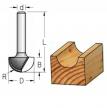 Фреза канавочная полукруглая WPW 16x9.5x43x8 R8.0 RB16005