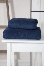 """Полотенце махровое   """"KARNA"""" APOLLO  (синее) 50*90 Арт.3201-5"""