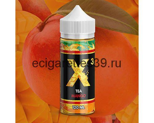 Жидкость X-3 Tea Mango, 120 мл.